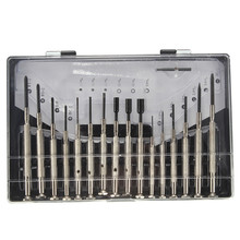 16 Pcs Multifunctional Precision Screwdriver Set for Repairing Watch Mobile Phone Computer Electronics Glasses(Hong Kong)