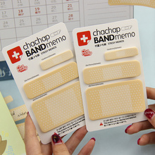 3 PCS Band Aid Series Sticky Notes N Times Memo Pad Memorandum Free Stickers Scratch Pad Notepad Guest Article