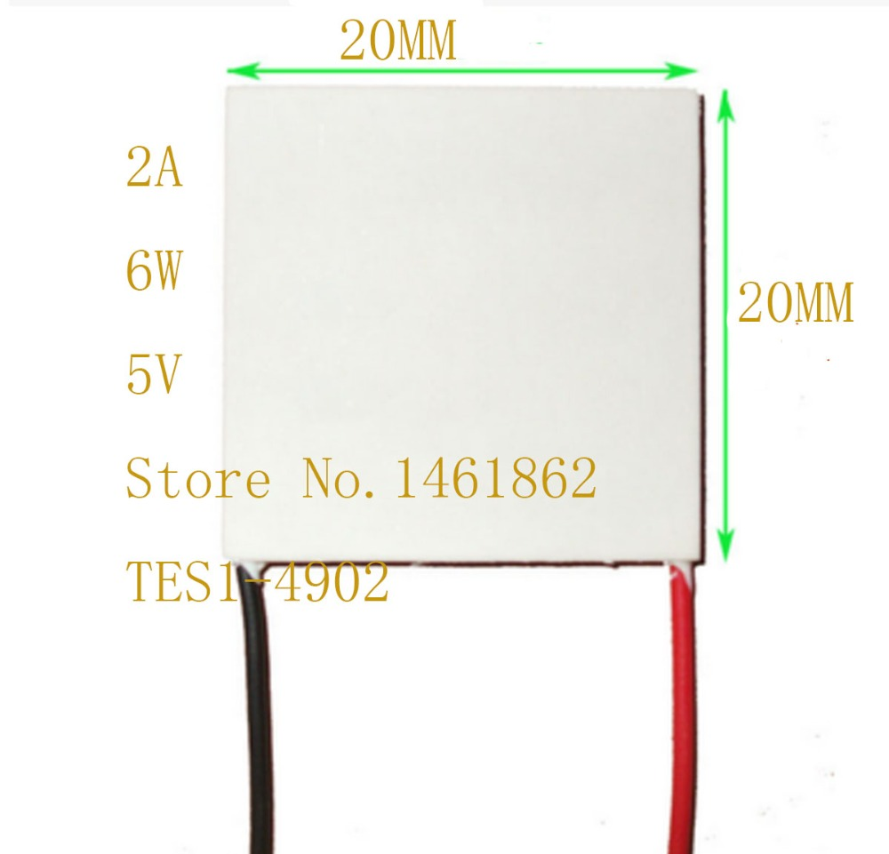 TES1-4902 20*20MM Refrigeration piece for industrial grade laser instrument Small and micro electronic components cooling plate<br>