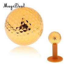 MagiDeal Golden Golf Ball for Training Practice Rubber (only ball)(China)