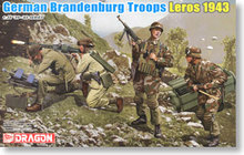 1/35 scale model Dragon 6743 Germany Brandenburg Special Forces Dodecanese Islands - Leros 1943(China)