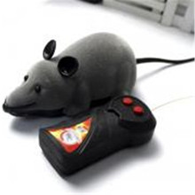 New Funny Pet Cat Toys RC Mouse with Remote Control Wireless Motion Rat Mouse Toy Cat Toy