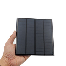 12V 3W 250MA Solar Panel Portable Mini Sunpower DIY Module Panel System For Solar Lamp Battery Toys Phone Charger Solar Cells(China)