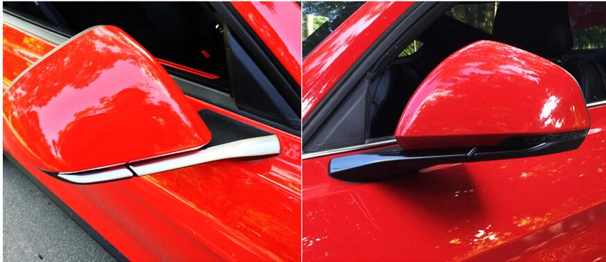 side mirror trim for Ford Mustang car accessories (12)