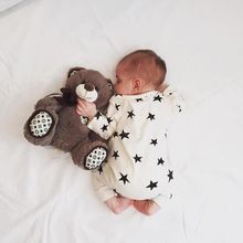 New Baby Romper Star Pattern Long Sleeve Boy Girl Clothes Newborn Clothing Casual Infant Toddler Suit