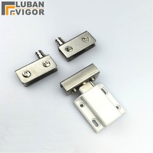 Glass cabinet, door hinge sets,Stainless steel,for bar glass cabinets,showcase hinge,hardware for glass thickness 5-8mm