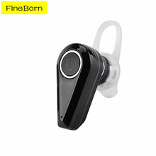 Fineborn Bluetooth Earphones Headphone Mini Bluetooth Headset Wireless Single Earbud Tiny Sports Bluetooth Headset Earphones(China)