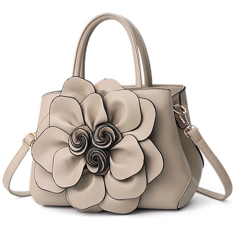 Nevenka Handbag Women Floral Handbags Small Shoulder Bags Leather Crossbody Bag for Women Handbags Purses and Handbags 201815