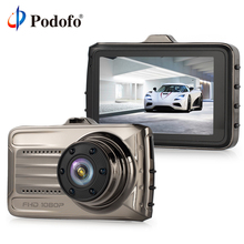 Podofo Car DVRs Camera Dash Cam Full HD 1080P Recorder Video Registrar Night Camera Blackbox Carcam Loop Recording Dash Camera(Hong Kong)