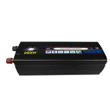 free shipping,High Capacity 10000w Peak Power 5KW Power Inverter 40A 12V/24V to 220V Modified Sine Wave