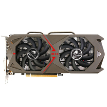 COLORFUL GeForce GTX1060 3GD5 Gaming Graphics Card 1506-1708MHz PCI-E X16(3.0) DVI+HDMI+3DP Video Card With 2 Fans 1060 3GD5(China)
