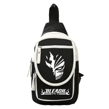 Men Women Boys Girls Bleach Kurosaki Ichigo Anime Small Shoulder Messenger Bag Chest Bags Sling Cross Body Travel Trip(China)