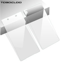 TOBOCLOO 2PCS = Front + Back Screen Protector Film Tempered Glass for Sony Xperia Z M4 M5 Aqua Z1 Z4 Z5 Z2 Z4 Z3 Compact Case(China)