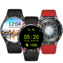 Unlock KW88 3G Quad Core Smart Watch Android Phone Relogios Invictas 4GB GPS Wifi Google Camera Playstore Bluetooth Smartwatch