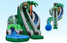 (China Guangzhou) manufacturers selling inflatable slides, inflatable castles,Large pool slide  CB-07
