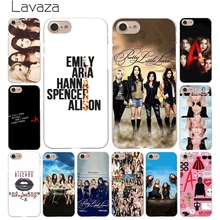 Lavaza Pretty Little Liars Lucy Hale Hard White Coque Shell Phone Case for Apple iPhone 8 7 6 6S Plus 5 5S SE 5C 4S X 10 Cove(China)