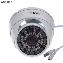 Buy Gadinan Security CMOS 800tvl/1000TVL IR-CUT 48IR Night Vision Metal Dome Outdoor CCTV Camera Home Security Surveillance for $14.59 in AliExpress store
