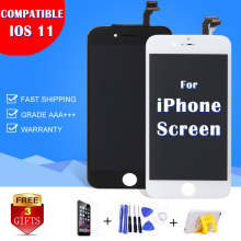 New AAA+ Pantalla For iPhone 4 5S 5 6 6+ 6S PLUS LCD Screen White Front Glass Lens Digitizer Frame Assembly Replacement Repair(China)