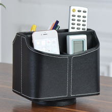 Cortex rotate desktop storage box/Remote control storage creative rotation ome finishing supplies(China)