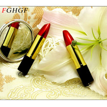 FGHGF jewelry metal lipstick USB Flash Drive gift for girl hot sale pendrive 4GB/8GB/16GB/32GB high speed memory stick U disk