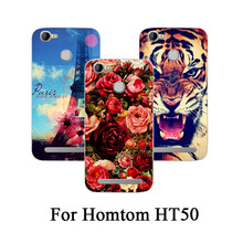 Buy 2017 New Arrival Fashion Flower Animals Tower Design painted Phone Cover HomTom HT50 5.5inch Phone Case homtom HT50 for $2.23 in AliExpress store