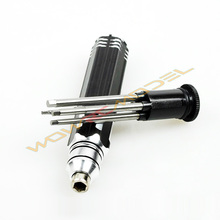 4 in 1 Hex Screw driver Set 1.5MM 2.0MM 2.5MM 3.0mm RC Heli plane car boat Tools RC Tool