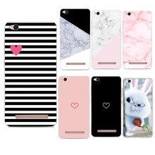 Funda Xiaomi Redmi 5A Case Silicone Cover Xiaomi Redmi 4X Cases Capa Xiomi Redmi Note 4 Mi A1 Cover Case TPU Coque