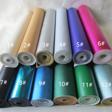 30 x 134cm PU leather fabric faux leather synthetic leather material mini roll for DIY fabric CN044(China)