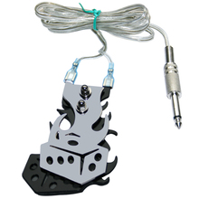 Tattoo Machine Tattoo Gun Footswitch Foot Pedal Controller Power Supply Free Shipping