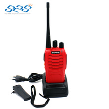 A pair Original BAOFENG BF-888S UHF 400-470MHz 5W 16CH Ham 1500mAh Two-way Radio Walkie/Talkie Red color mobile handheld radio