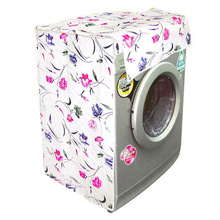 Thicker waterproof sunscreen washing machine cover dust cover automatic drum(China)