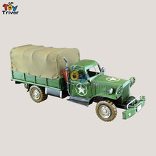 Home Office shop Decor handmade American military truck model creative vintage craft boyfriend Valentine's gift toy(China)