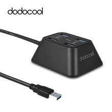 dodocool Portable 4-Port USB 3.0 HUB for Desktop Ultrabook Superspeed 5Gbps High Speed for Windows, Linux, Mac OS