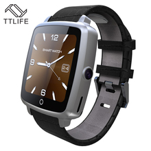 Best seller TTLIFE Brand Support SIM TF Card Smartwatch Bluetooth Smart Watch Wearable Devices For Android phone pk dz09(China)
