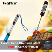 WALFOS Digital Probe oven Meat Thermometer Kitchen BBQ Food Thermometer Cooking Stainless Steel Foldable Probe Meat Turkey(China)
