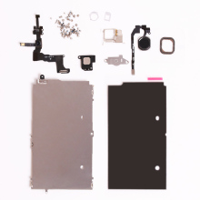 Full Set Repair Parts For iphone 5S Full LCD Touch Screen Display&Front Camera Ear Speaker Plate home button Screws Repair Parts