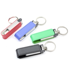 KeyChain Leather 8GB 32GB 64GB 4 Colors Pendrive Memory Stick Gift Metal 3.0 USB Flash Drive 128GB 256GB 512GB Pendrives 1TB 2TB(China)