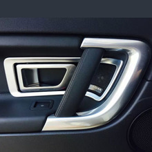 Left-driving China Manufacture ABS Chrome Inner Door Handle Cover For Land Rover For Discovery Sport 2015 Car Accessories