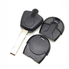 20pcs/lot New style 2 buttons Replacement Car Key For Fiat transponder Key Shell no chip key blank fob with logo