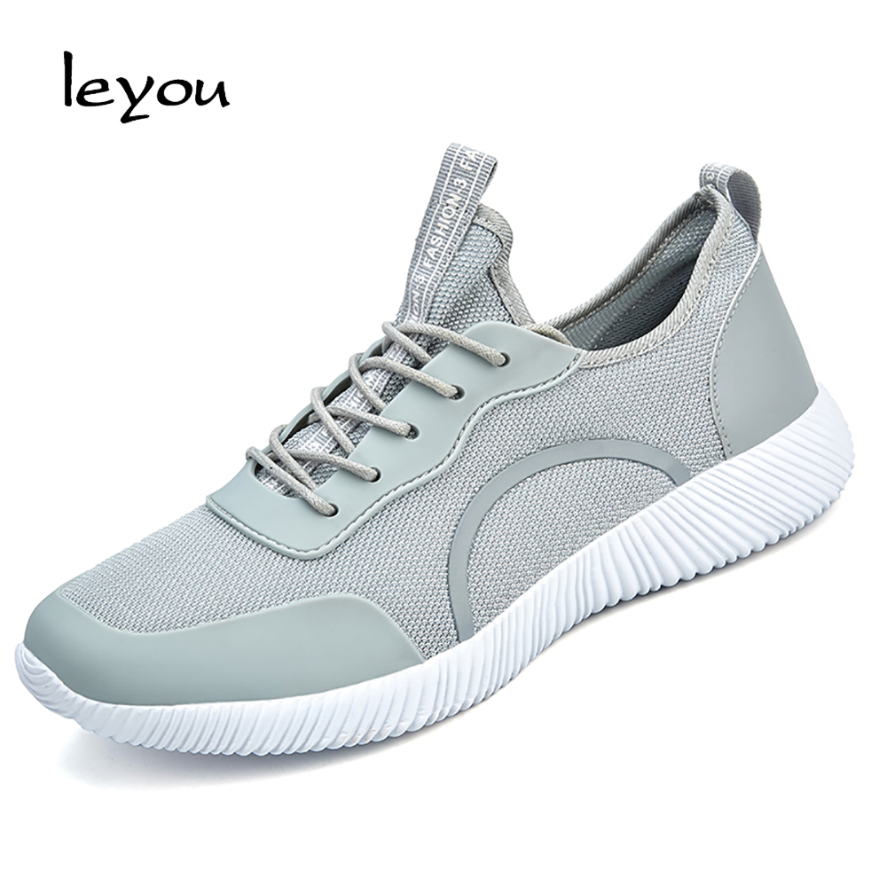 Leyou Mens Mesh Sneakers Casual Shoes Men Sport Sh...