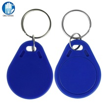 Buy  (10/50/100pcs) 125KHz EM4305 T5577 RFID Keyfobs Tags Token Duplicator Copy Proximity Rewritable Writable Copiable Clone ABS Blue for $6.97 in AliExpress store