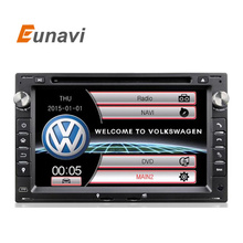 Two Din 7 Inch Car DVD Player For VW/Volkswagen/PASSAT/B5/MK5/GOLF/POLO/TRANSPORTER With Radio GPS Navigation BT 1080P Ipod Map