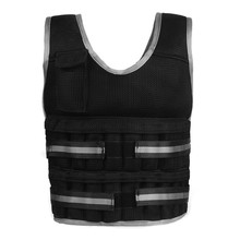 Weighted vest training ultra-thin ventilate soft and comfortable material   adjustable thickened shoulder girdle steel plate