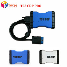 Good Quality New TCS CDP PRO Without Bluetooth 2014.2/2015.3/2015.1 Software Auto OBD2 Diagnostic Scan Tool CDP For Car Truck
