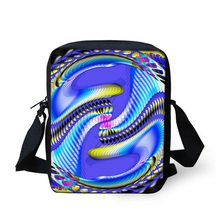 Stylish Paisley Print Men's Crossbody Bag Boys Designer Handbags High Quality Children Kids Messenger Bag for School Vintage Bag