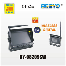 Heavy vehicle (trucks ,bus ,vans) reversing rearview wireless digital monitor with camera system BY-08209SW(China)