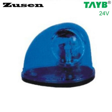 Zusen blue led TB1201 24V Traffic barrier lights Signal Warning Light LED Lamp Magnet bottom(China)