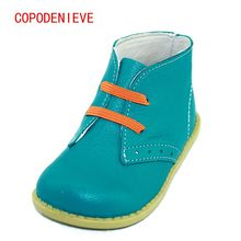 COPODENIEVE Chaussures enfants boys girls snow fashion Martin boots single low short botas kids baby nina boys autumn shoeS(China)