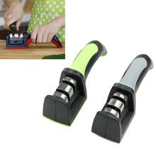 2 Stages Diamond Ceramic Kitchen Knife Sharpeners Sharpening Stone Household Sharpener Kitchen Stainless Steel Knives Tools