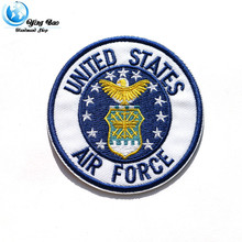 "1pcs size :diameter 6.2cm Iron-on  'U.S AIRFORCE"" STYLE badges garment air force patch Appliques accessory patches P-35"